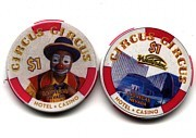 Circus Circus One Dollar Chip - Product Image