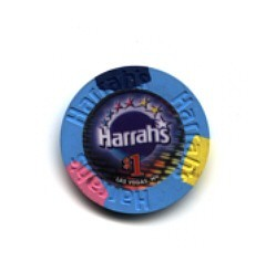 Harrah's Hotel One Dollar Chip. - Product Image