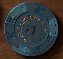 California Hotel/Casino One Dollar Chip. - Product Image