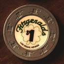 "Fitzgerald""s Casino One Dollar Chip - Product Image"