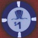 WYNN Las Vegas One Dollar chip. - Product Image