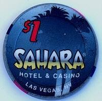 Sahara Casino One Dollar Chip - Product Image