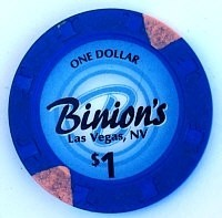 Binion's Casino One Dollar Chip - Product Image