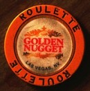 Golden Nugget Hotel One Dollar Chip. - Product Image