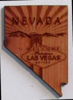 Las Vegas Welcome Magnet - Product Image