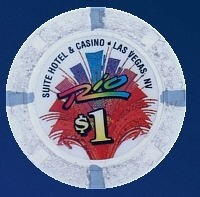 Rio Casino One Dollar Chip. - Product Image
