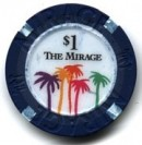 Mirage Hotel One Dollar Chip - Product Image
