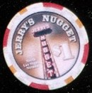 Jerry's Nugget One Dollar Chip. - Product Image