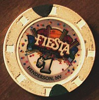Fiesta Henderson One Dollar Chip. - Product Image