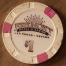Fremont Hotel One Dollar Chip. - Product Image