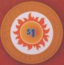 Suncoast Casino One Dollar Chip. - Product Image