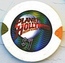 Planet Hollywood One Dollar Chip - Product Image