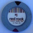 Red Rock Casino One Dollar Chip. - Product Image