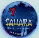 Sahara Casino One Dollar Chip - Product Image
