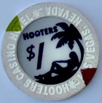 Hooters One Dollar Chip - Product Image