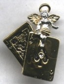 Lucky Blackjack Angel Pin - Product Image