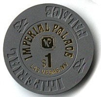 Imperial Palace Hotel One Dollar Chip - Product Image