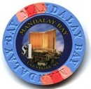Mandalay Bay Hotel One Dollar Chip. - Product Image